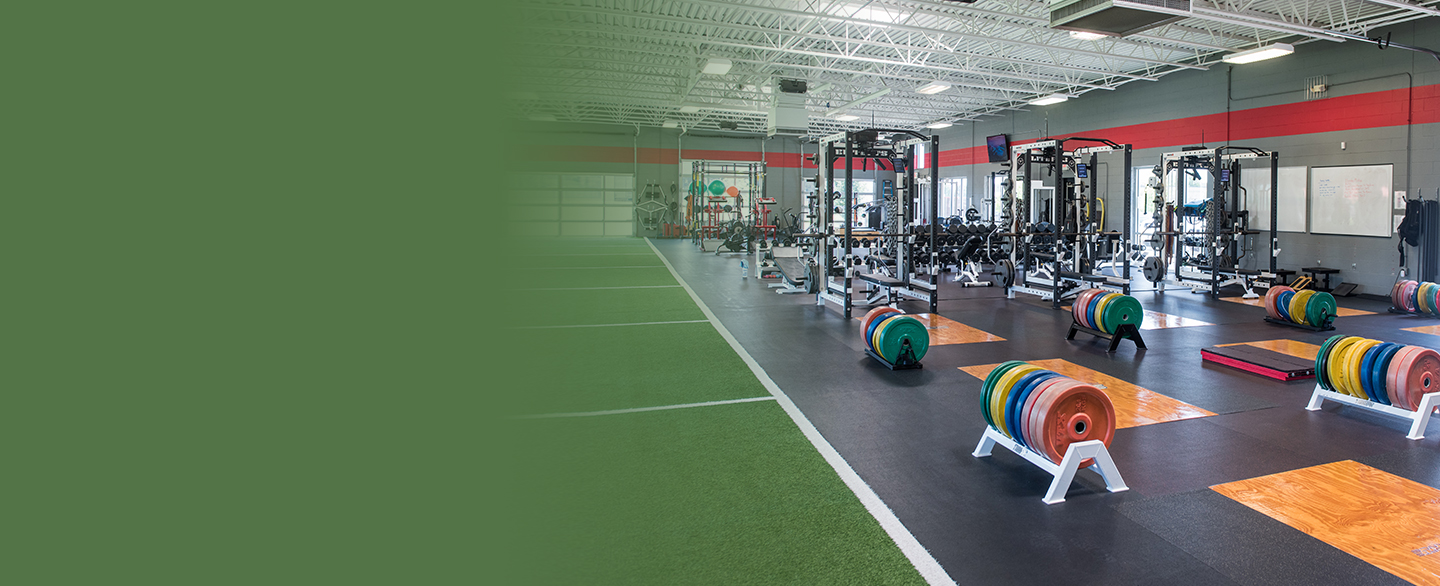 Sports medicine performance center in Overland Park.