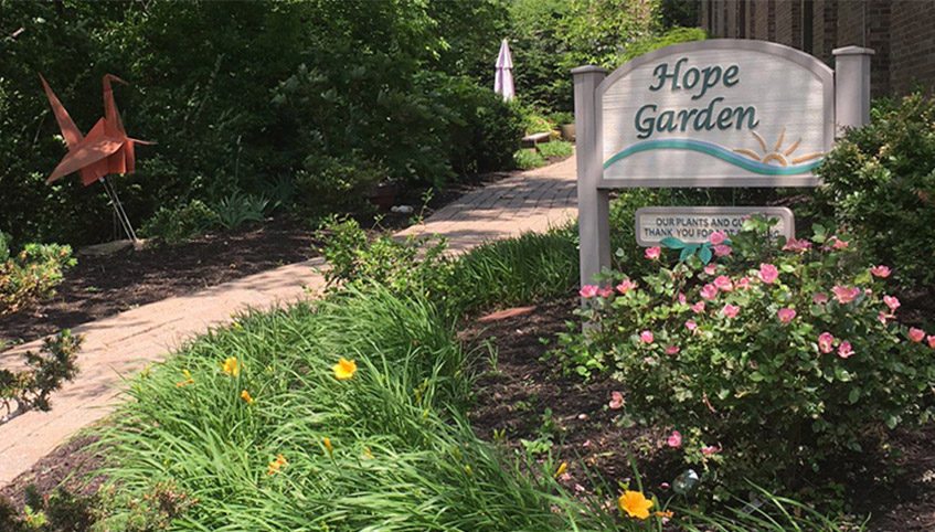 Turning Point's Hope Garden