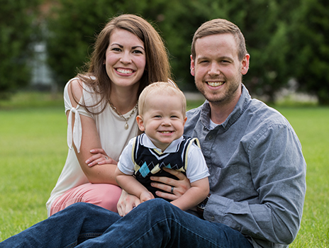 IVF patients Andrew and Brieanna Claassen.