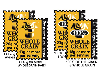 Whole grain food stamps.