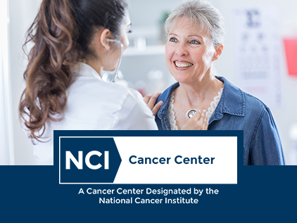 Doctor working for NCI-designated cancer center.