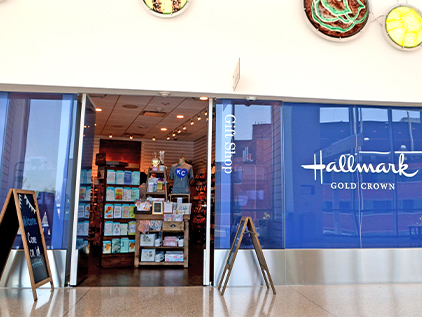 Hallmark Gold Crown store in Cambridge Tower A.