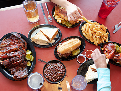 Kansas City barbecue.